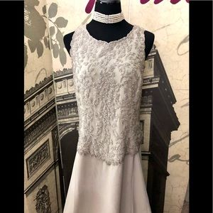 Beautiful evening gown by JKARA in size 14